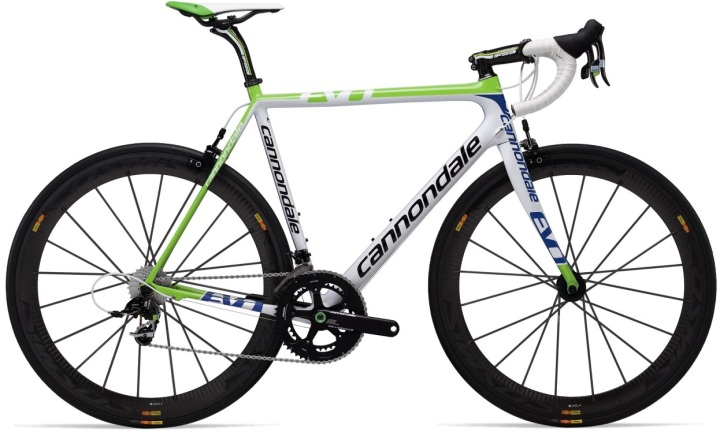 Cannondale supersix evo team 2013