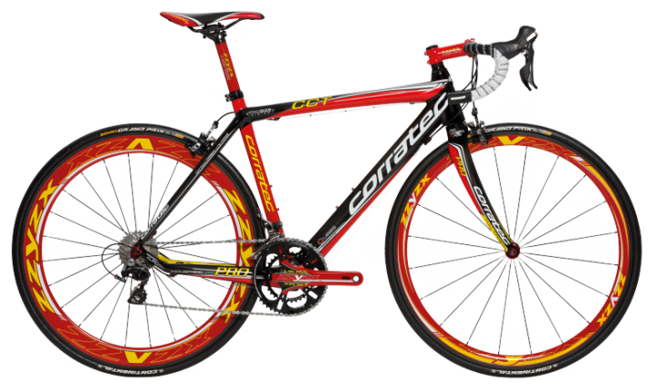 2013 Corratec cct_pro_dura_ace_zzyzx_red_black_0