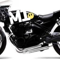 Kawasaki 750 by Zephyr vs Honda CB750