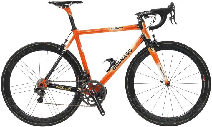 Colnago c59-adorg 2013 orange