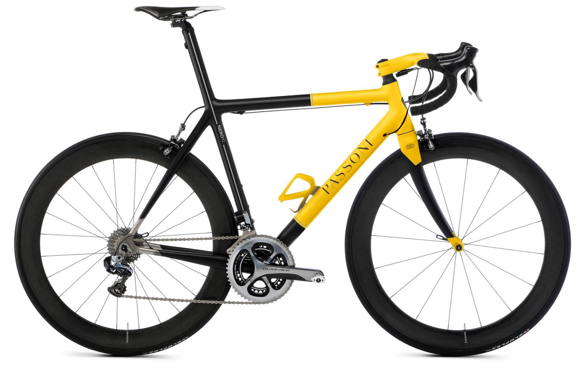 Passoni Nero XL 2013 yellowneuroticarnutzColnago-C59-Italia-2013 yellow custom