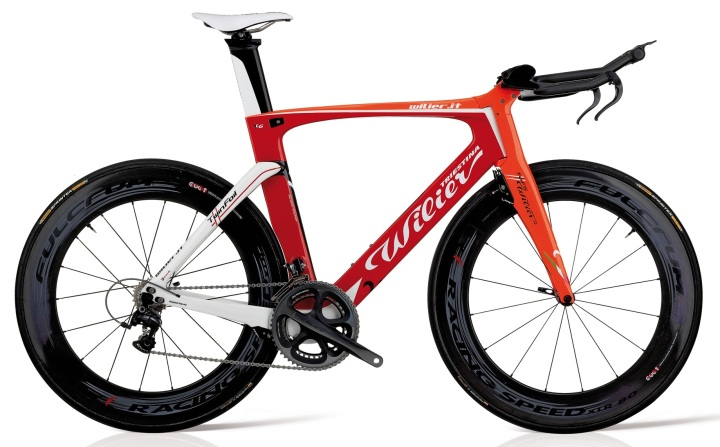 Wilier twinFoil-rosso