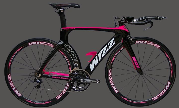 WIZZ Carbon Fiber Women's Time Trial Bike 2013