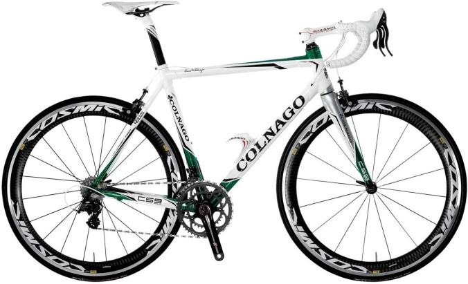 Colnago C59 white green 2013