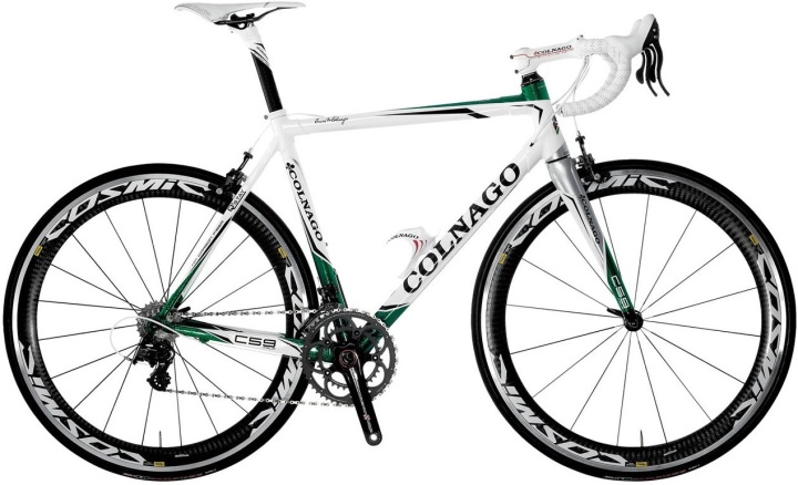 Colnago C59 white green 2013