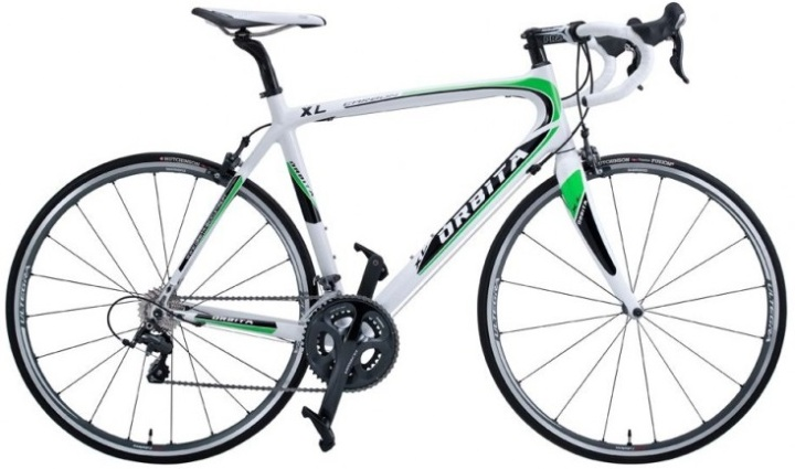 Orbita ultegra-carbon white green 2013
