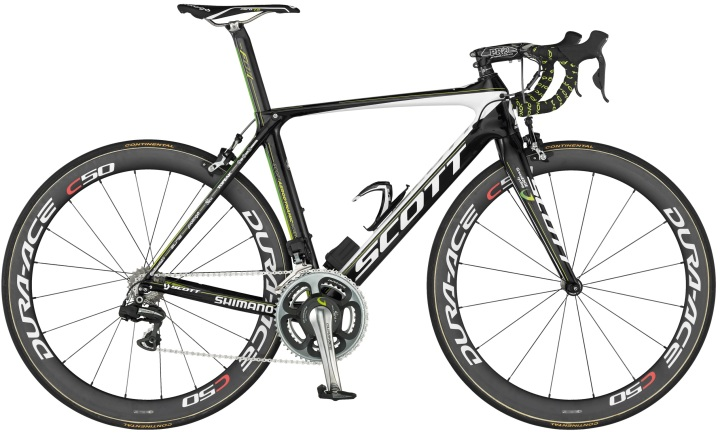 Scott Foil 2013 green edge
