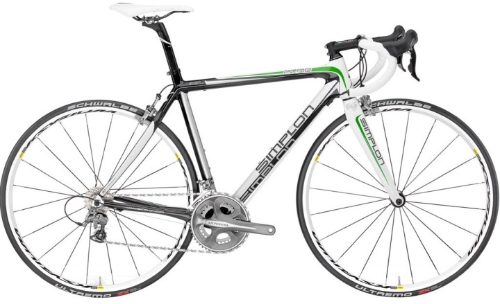 Simplon Pride white green 2013