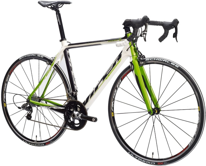 2013 Viper Galibier SRAM Force white green