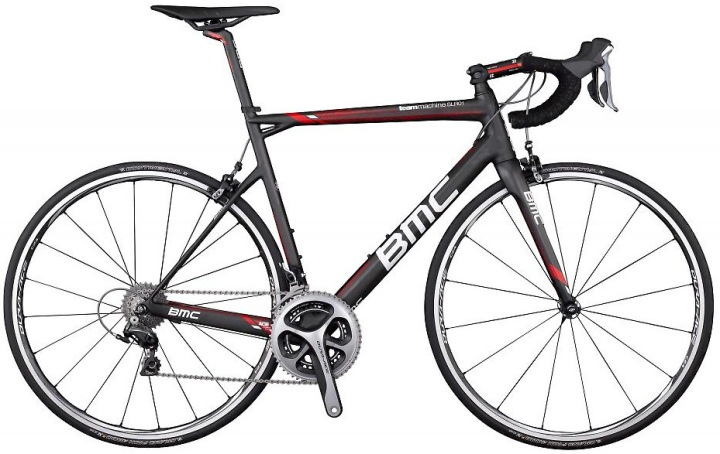 2014 BMC SLR01 black red