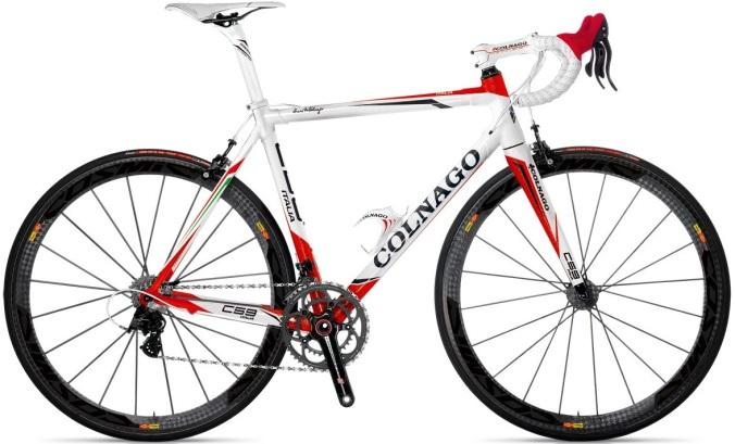 Colnago C59 italia white red mavic 2013