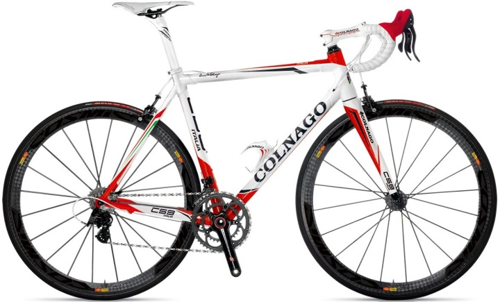 Colnago C59 italia white red mavic 2013