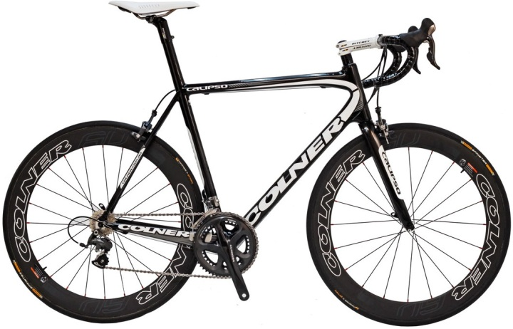Colner Calipso 2013 blue black ultegra