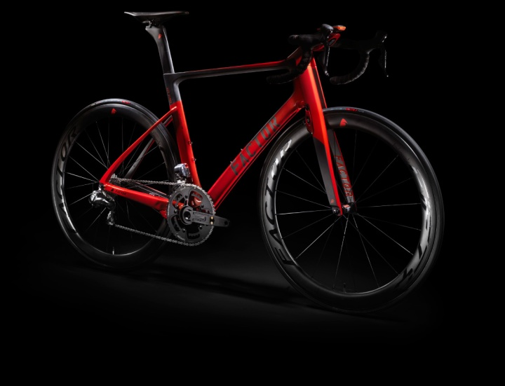 Factor Vis Vires dura-ace-red