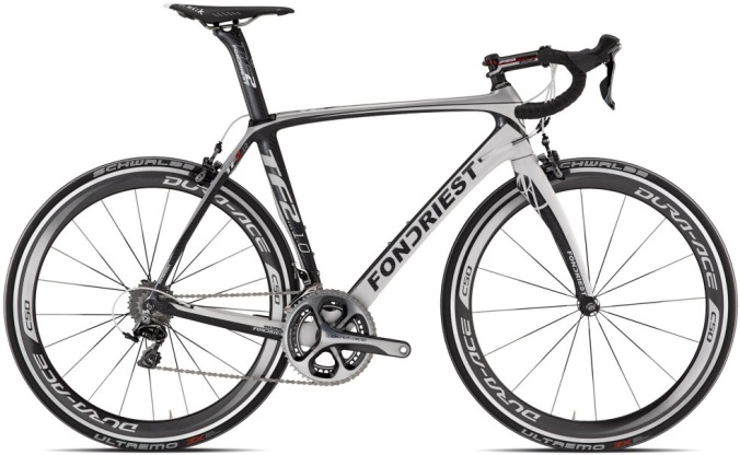 Fondriest TF2 1.0 black white dura ace