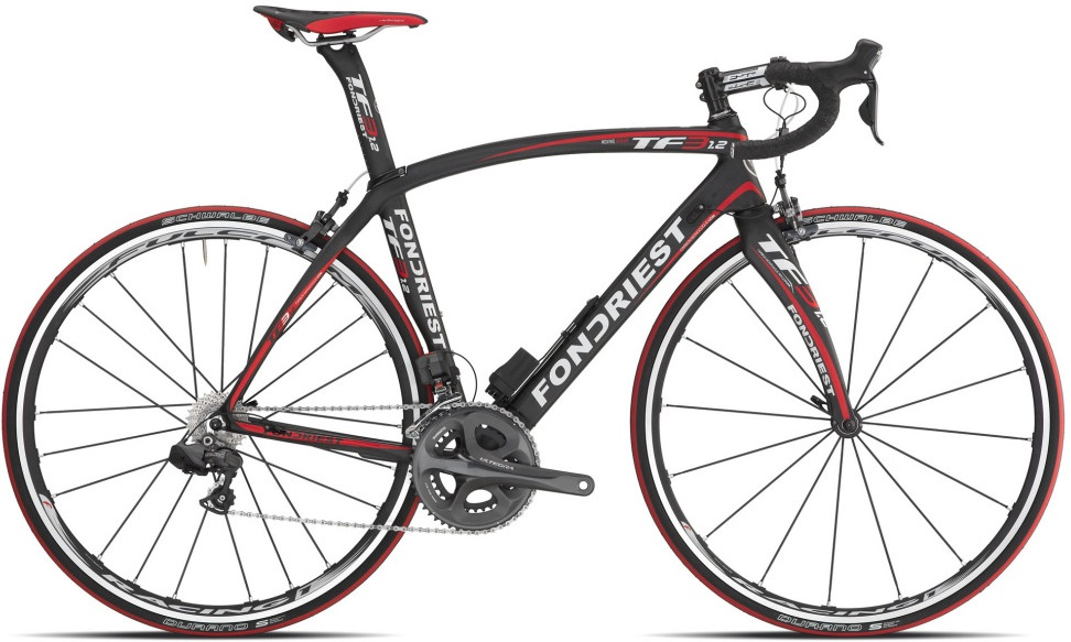 Fondriest TF3 1.2 red black Ultegra Di2 2013neuroticarnutzOrbea -ORCA MLTD di2 dura ace black red 2014