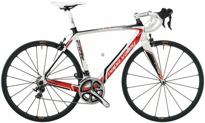 FRW Napa Valley 2013 white red dura ace