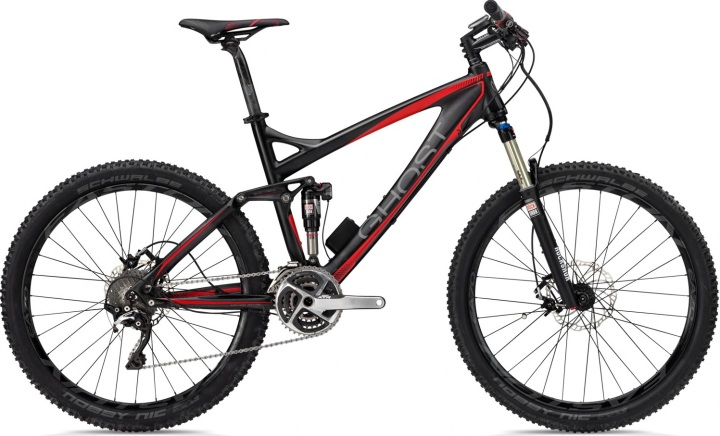 Ghost AMR Lector 2013 black red