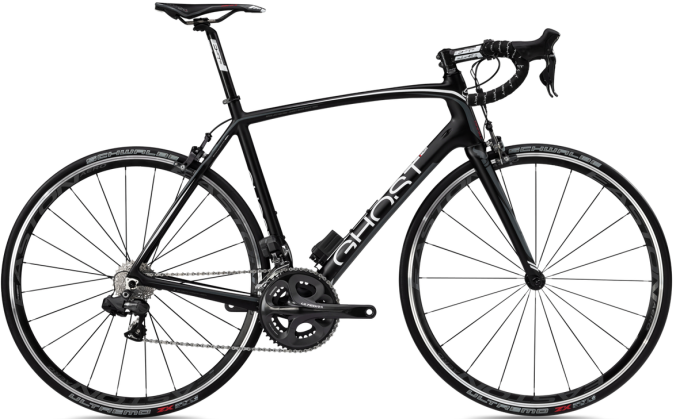 Ghost Race_Lector_PRO_black-white-grey Ultegra Di2 2013