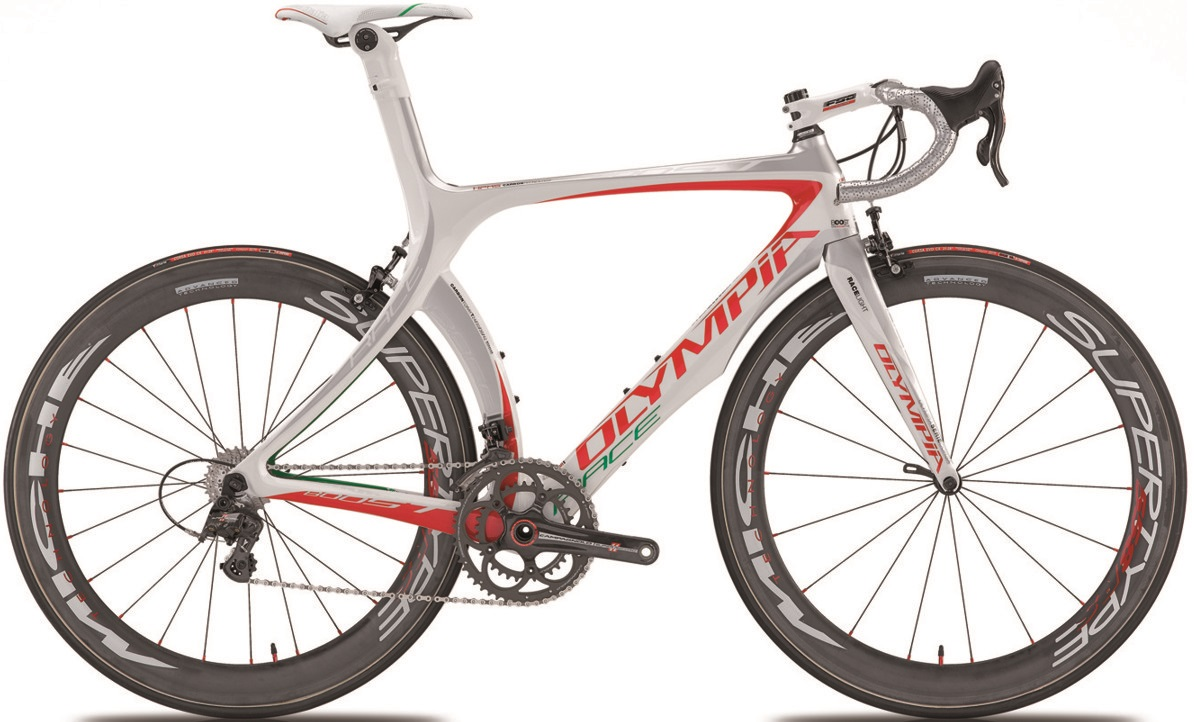 Olympia boost_italia Dura Ace Di2 2013neuroticarnutzReference M1 red green 2013