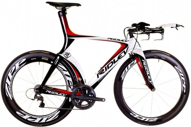 Ridley-Dean tt bike black red white