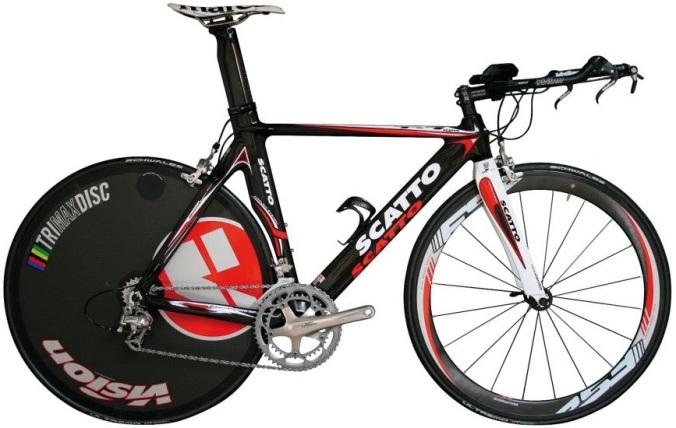 Scatto King tt bike black 2013