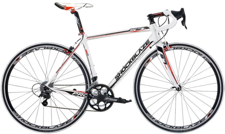 Shockblaze S7 Pro Xenon white red 2013