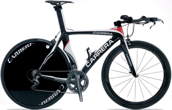 Carrera Crono Carbonio black white red 2013 tt
