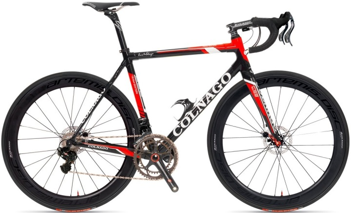 Colnago C59 Italia black red 2013 disc