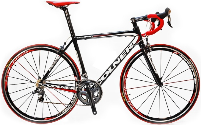 Colner Calipso ultegra 2013 red black