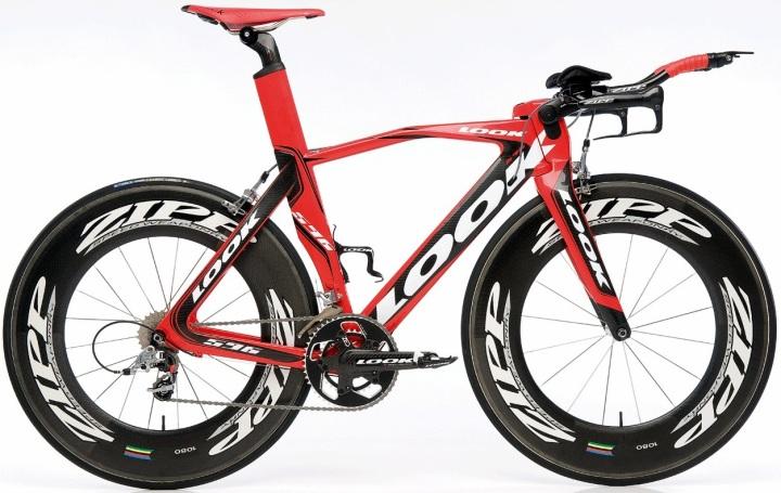 Look 596 tt  bike