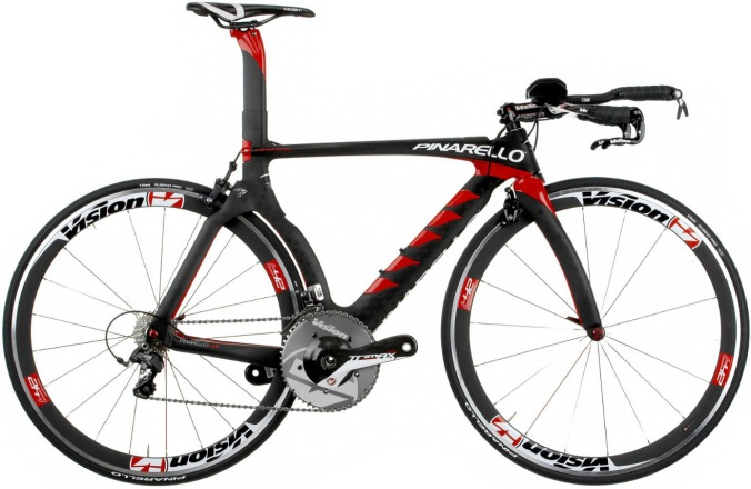 Pinarello Graal 2014 tt black red