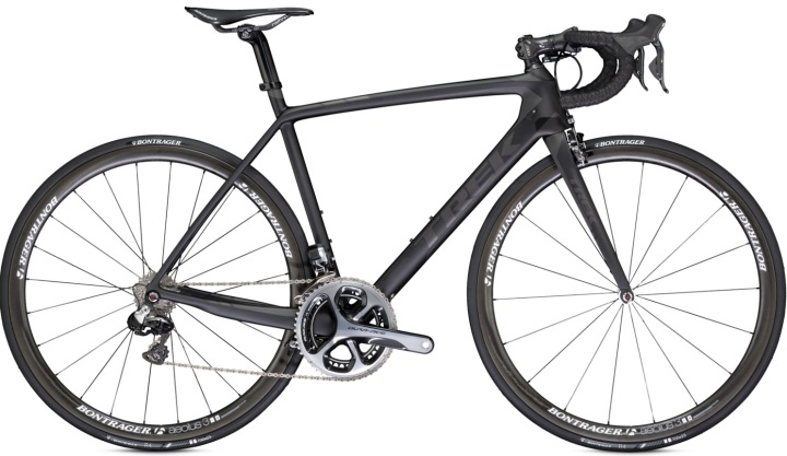 Trek Madone 7 black 2014 dura ace