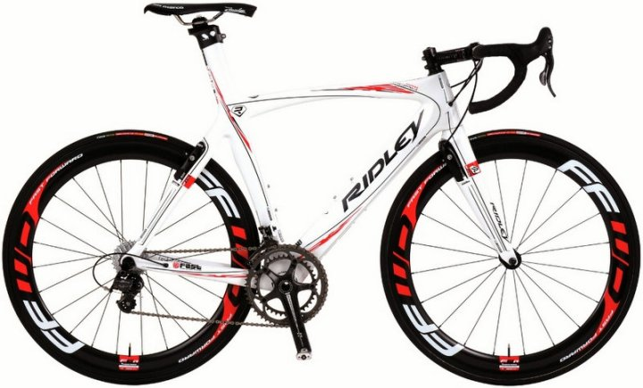 2014 Ridley Noah white red