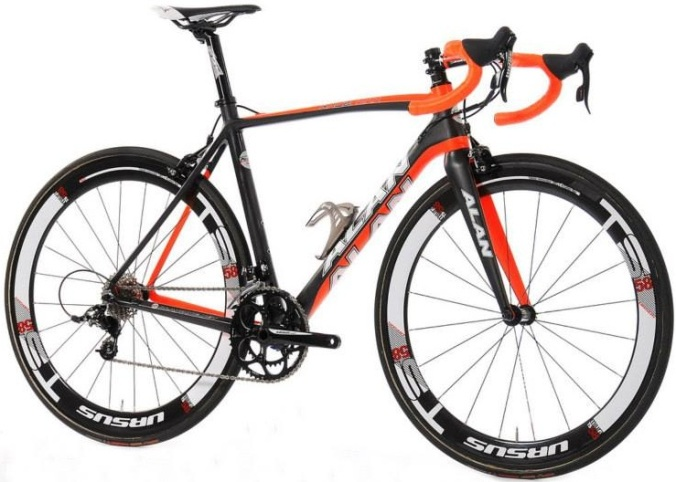 Alan Race max black orange 2014