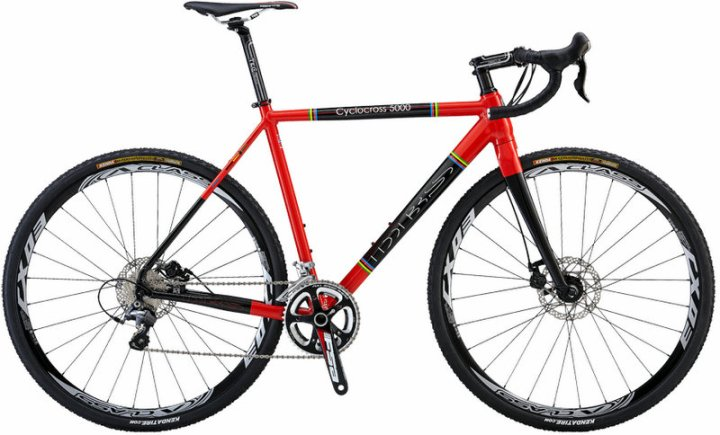 DBS Cyclocross 5000 cx 2013 red black