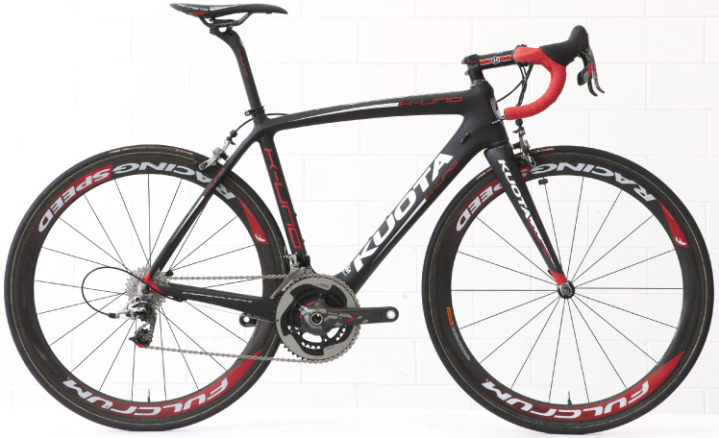 Kuota Cycle-K-UNO 2014 black SRAM red