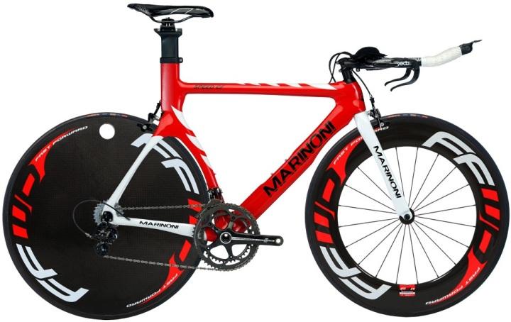 Marinoni Speed Cf 2014 red black tt