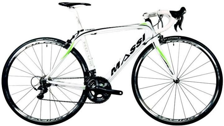 Massi team carbon green white