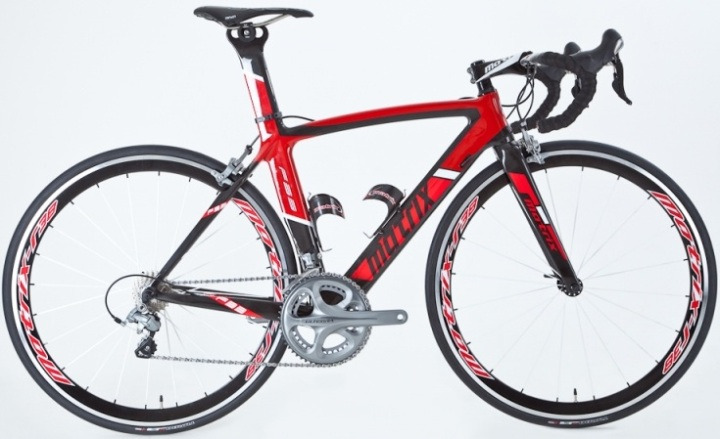Matrix f35 2013 red black ultegra