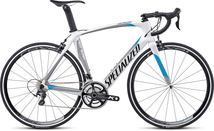 Specialized Venge Expert 2014 white light blue