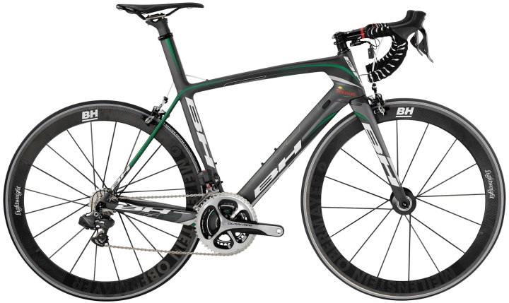 2014 bh G6 black green dura ace