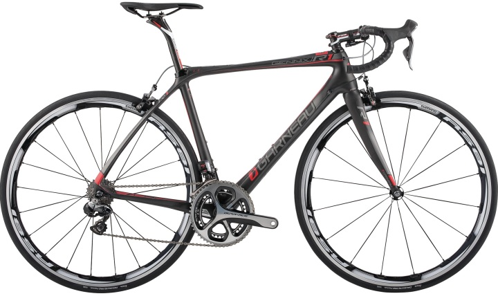2014 garneau gennix r1 black red dura ace