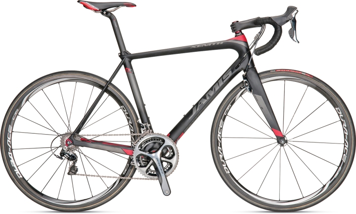 2014 jamis xenith sl black red dura ace