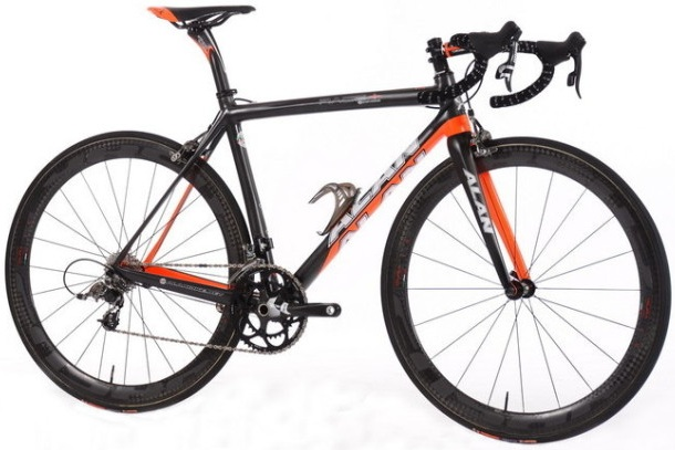 Alan Race + 2014 black orange sram