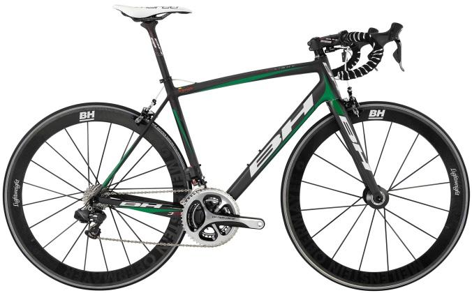 BH Ultralight dura ace 2014 green black