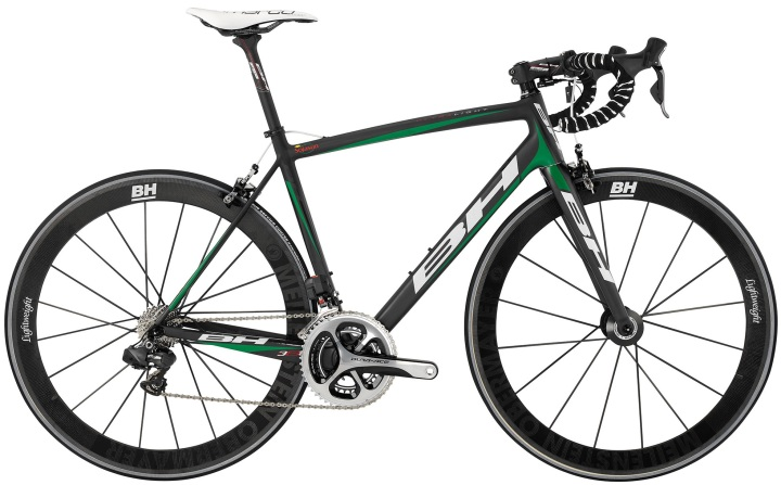 BH Ultralight dura ace 2014 green black