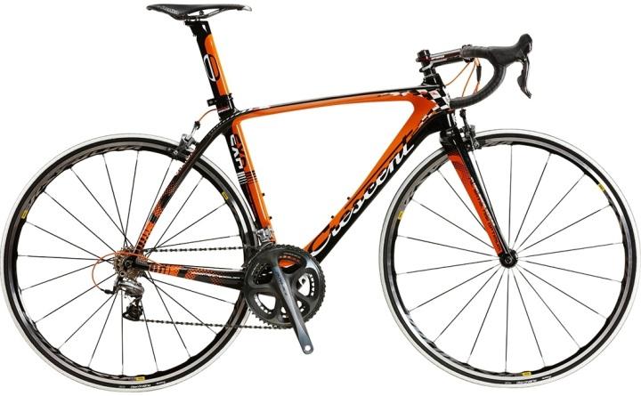 Crescent Exa Black orange dura ace 2013