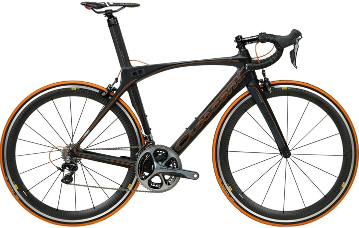 Crescent Exa Di2 black orange swedish 11K 2013