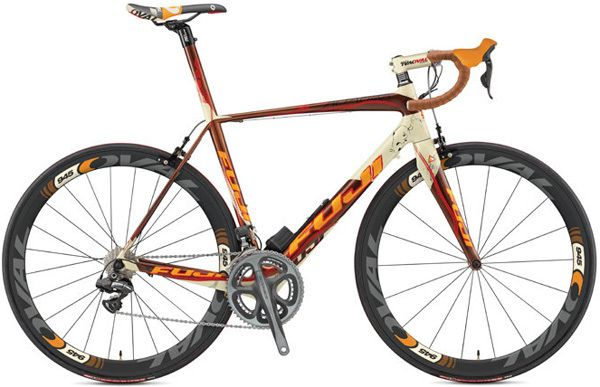 Fuji Altamira Di2 CX 2013 orange